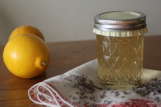 Preserve seasonal citrus with a bright floral flavor in this easy to make and delicious meyer lemon lavender jelly that makes for amazing gifts.