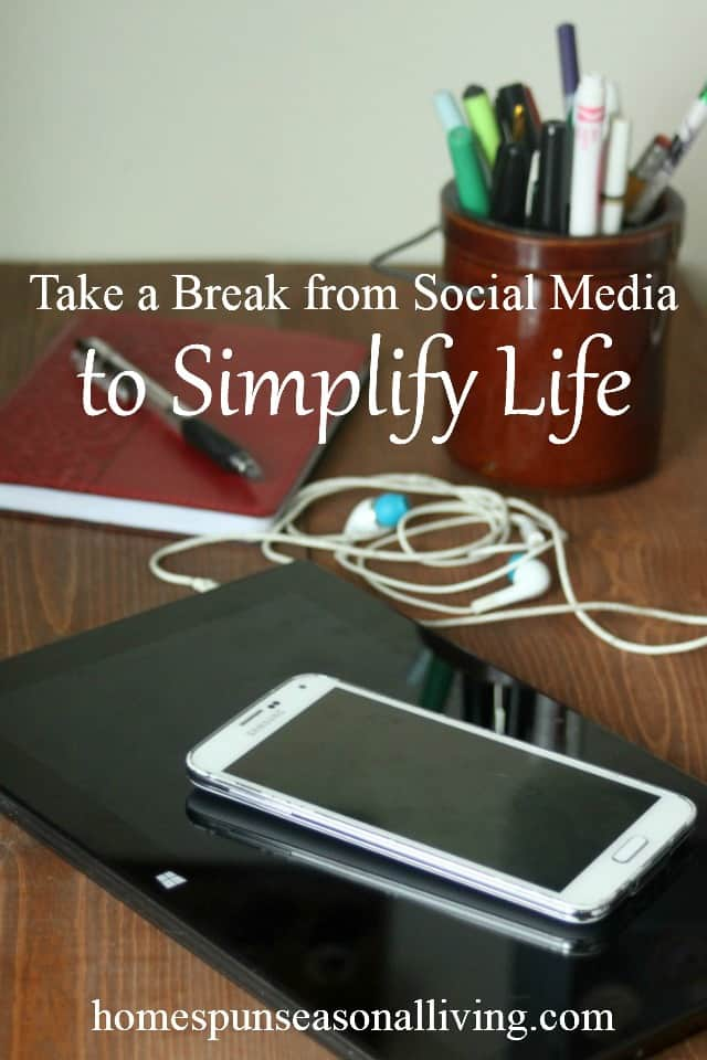 Find more joy, time to accomplish long-term goals, and simplify life for the long-term by taking a break from social media. Use these tips and suggestions to restore a healthy balance to social media usage and simple living.
