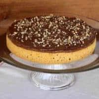 Honey Cake with Chocolate Honey Frosting