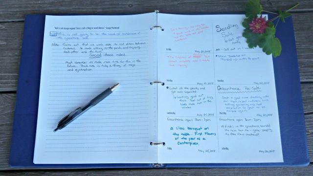 Types of Journals to Keep for Your Handmade Life | Homespun Seasonal