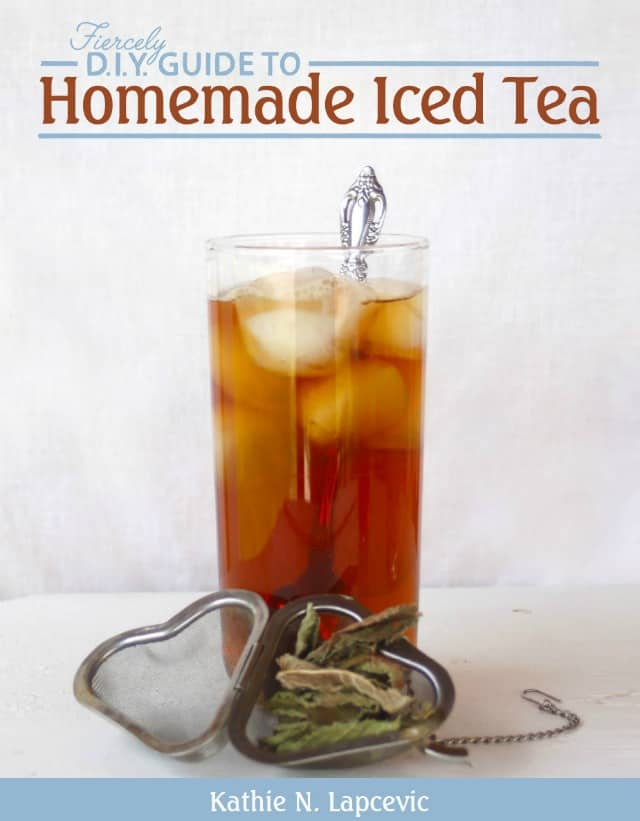 Cover of the Homemade Iced Tea E-book.