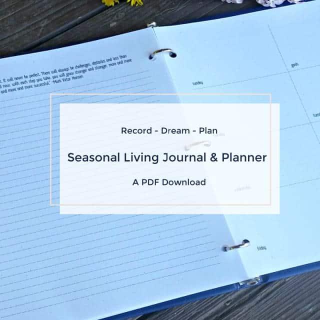 Simple Seasonal Journal & Planner