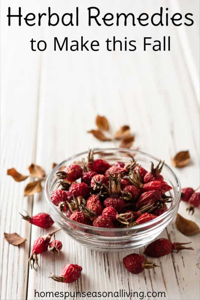 A bowl of dried rose hips.