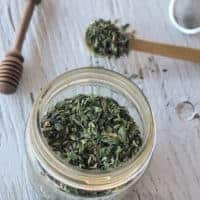 Ginger Lemon Balm Green Tea Blend