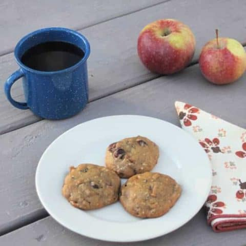 Soft Spiced Coffee Cookies