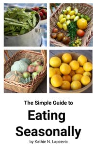 The cover image for the simple guide to eating seasonally.