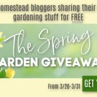 The 2019 Spring Garden Giveaway