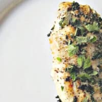 Seared Lemon Balm Chicken