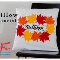 Autumn Leaves Pillow Tutorial (Free Pattern)