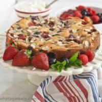 Grain-Free Fresh Berry Cake
