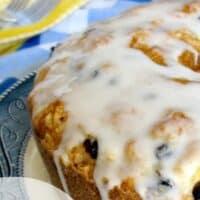 Lemon Blueberry Squash Bread