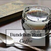 Roasted Dandelion Root Coffee |