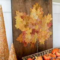 Leaf Collage Wall Art
