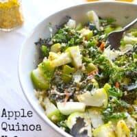 Apple, Quinoa and Kale Salad Recipe