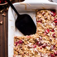 Cranberry Maple Pecan Baked Oatmeal