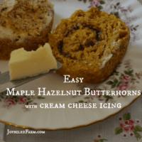Maple Hazelnut Butterhorn