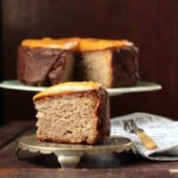 Maple Parsnip Cake with Sweet Potato Frosting