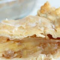 Glazed Maple Apple Pie