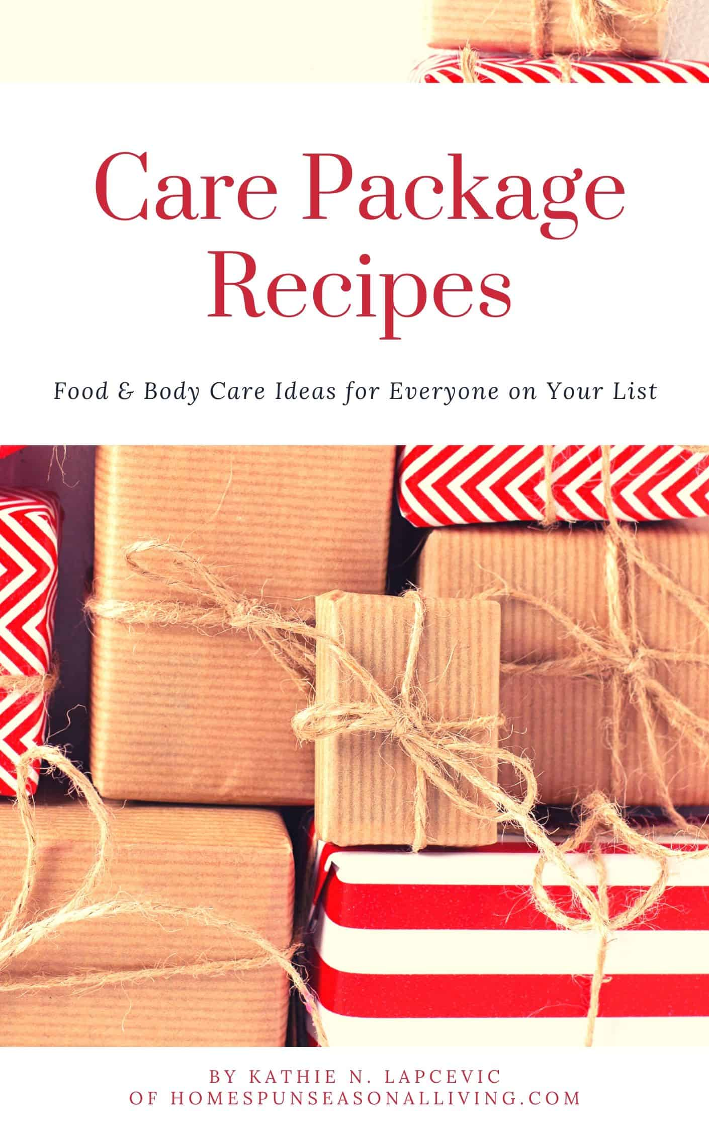 Care Package Recipes E-book
