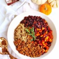 The best sweet potato and beet wild rice salad recipe