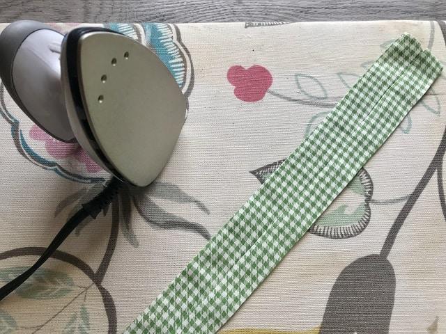 Ironing fabric tube